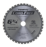 "Tenryu 6-3/4"" Steel Cutting Blade CF-17340M"