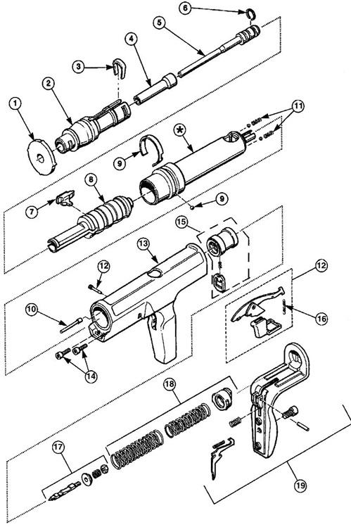 Ramset Cobra Parts