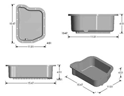 Reference Drawing for Transmission Pans NTP103