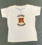 Future Mustang White Toddler Tee