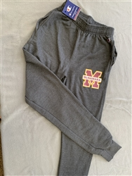 Gray Champion Jogger Style Sweatpants
