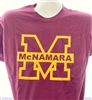 Big M Maroon T Shirt