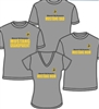 Mustang Mom Gray Crew T Shirt