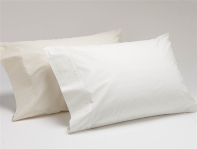 Coyuchi Organic Cotton Percale  Pillowcase (Pair) - 220 Thread Count
