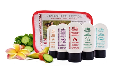 Morrocco Method Trial & Travel Shampoo Tote