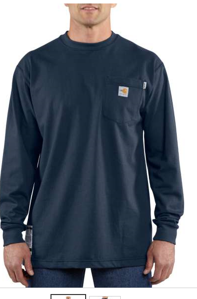 Carhartt Fr Dark Navy Pull Over