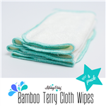Bamboo Terry Cloth Wipes (10 pack)