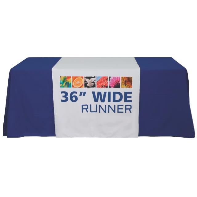 Premium Dye Sub 36 Inch Table Runner Full