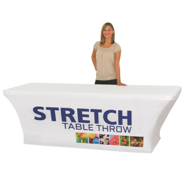 8 Ft Stretch Table Throw
