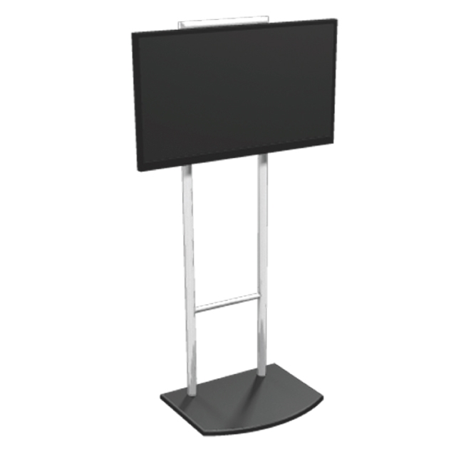 Vibe Monitor Stand Tension Fabric Trade Show Exhibit Display
