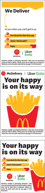 McDelivery - Uber Eats