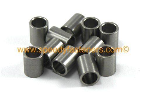 Stainless steel motorcycle fairing bolt spacers collars