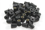 Pack of 50 x m4 Rubber Well Nuts