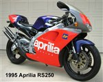 Aprilia RS250 1995-1997 Stainless Steel Fairing Bolt Kit
