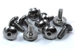 Stainless Steel Motorcycle Fairing Bolts m6 x 16mm with 3mm Shoulder. Yamaha, Suzuki, Honda