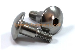 Stainless Steel Motorcycle Fairing Bolts m6 x 20mm with 10mm Shoulder. Yamaha, Suzuki, Honda