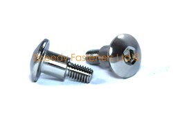 Stainless Steel Motorcycle Fairing Bolts m5 x 16mm with 8mm Shoulder. Yamaha, Suzuki, Honda
