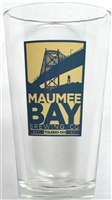 Maumee Bay Brewing Co. Beer Glass