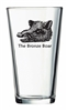 Bronze Boar Beer Glass