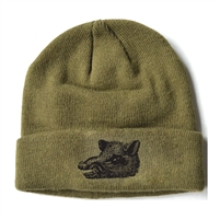 Bronze Boar Stocking Hat