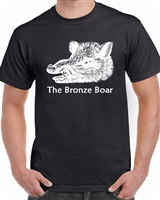 Bronze Boar T-Shirt (Black)