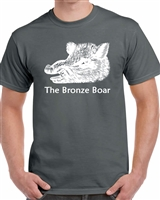Bronze Boar T-Shirt (Grey)