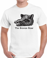 Bronze Boar T-Shirt (White)