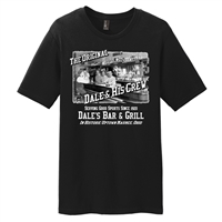 Dale's Bar & Grill Original Crew T-Shirt - Black