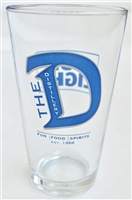 The Distillery Pint Glass
