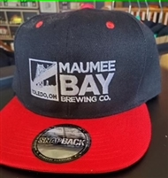 Maumee Bay Brewing Co. Red/Blue Ball Cap