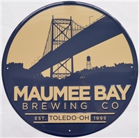 Maumee Bay Brewing Co. Metal Sign