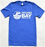 Maumee Bay Brewing Co. Blue Tee