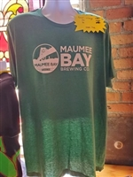 Maumee Bay Brewing Co. T-Shirt (green)