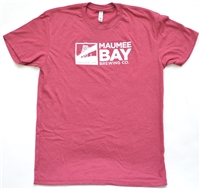 Maumee Bay Brewing Co. T-Shirt (maroon)