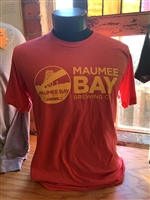 Maumee Bay Brewing Co. T-Shirt (maroon/yellow)