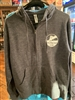 Maumee Bay Brewing Co. Zip Up Hoodie - Grey