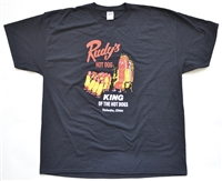 Rudy's Hot Dog T-Shirt (black)