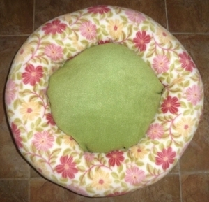 Spring Fling Custom Made Dog Bed