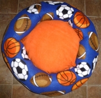 Sports Fan Custom Made Dog Bed