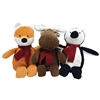 FouFou Dog Winter Corduroy Plush Dog Toy