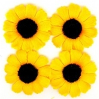Sunflower #3 Dog Bows