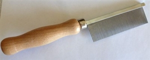 Wood Handle Comb - Fine #31
