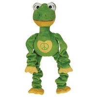 Grriggles Peacables Frog Dog Toy