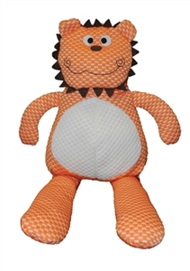 Patchwork Pet Tuff Puffs Dog Toy Lion 20""