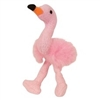 Multipet Puppy Buddies Flamingo Dog Toy
