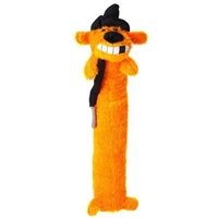 Loofa Dog Halloween 18-inch Plush Witch Dog Toy