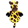 Hear Doggy Ultrasonic Flats Toy with Chew Guard - Giraffe