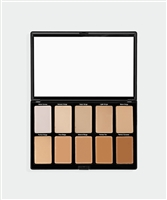 10 Piece Cream Foundation Palette