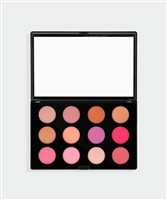 12 Piece Blush Palette