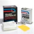 USC 58006 FIBERGLASS RESIN QUART KIT W/CLOTH / HARDENER